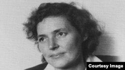 Археолог Ю.Худяковдун энеси Ирма Геккер (Худякова). 1960.