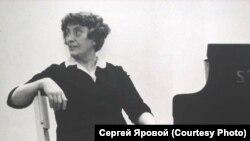 Вера Лотар-Шевченко на репетиции в Концертном зале имени Чайковского