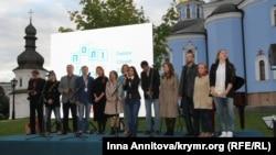 Команда проекту «Полілог» на презентації