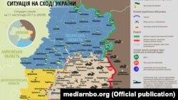 Ситуация в зоне боевых действий на Донбассе, 11 ноября 2017 год