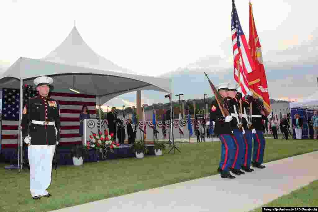 Obilježavanje Dana nezavisnosti u Ambasadi SAD u Sarajevu.