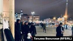 Акция в Петербурге