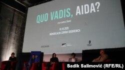 Razgovor sa režiserkom Jasmilom Žbanić nakon premijere filma u Memorijalnom centru Potočari u Srebrenici