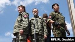 На пророссийском митинге в Донецке