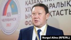 Аким Северо-Казахстанской области (СКО) Кумар Аксакалов.