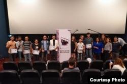 """""""Azerbaijan Youth Film Festival""""ının mükafatlandırma mərasimi. 2016."""