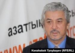 1986 жылғы желтоқсан қозғалысына қатысқан композитор Хасен Қожахмет, 1 желтоқсан 2009 ж.