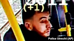 Поліція Утрехта на сторінці у Twitter розмістила підозрюваного у стрілянині в трамваї 18 березня 2019 року