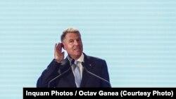 Klaus Iohannis la Consiliul Național al PNL