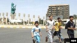 ساحة الفردوس وسط بغداد بعد إزالة تمثال صدام