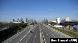 A102 ավտոմայրուղին, Լոնդոն, 2 մարտի, 2020թ.