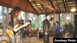 Гурт «Уліс» на фэстывалі Басовішча ў 1992 годзе