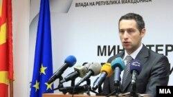 Архивска фотографија: Министерот за здравство Никола Тодоров.