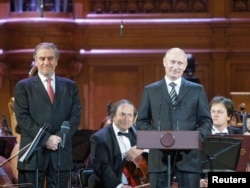 O veche prietenie: Vladimir Putin și Valeri Gergiev