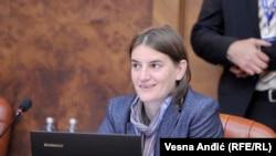 Ministarka za državnu upravu Srbije Ana Brnabić, 12. august 2016.