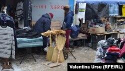 La piață la Dondușeni