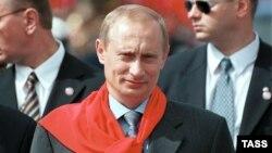Владимир Путин в Пхеньяне.