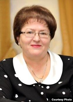 Галина Салата, министр образования Хакасии