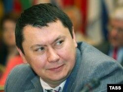 Рахат Алиев, в бытность послом Казахстана в Австрии. Алматы, 30 мая 2007 года.
