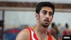 Abodllah Jamei Iranian gymnastics champion. FILE PHOTO