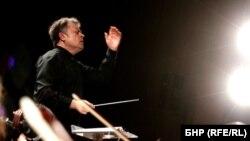 Марк Кадин, главен диригент на Симфоничния оркестър на БНР