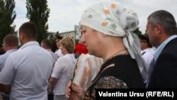 Miting de doliu la Căuşeni, 19 iunie 2013