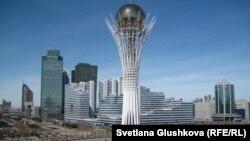Астанадағы Бәйтерек ескерткіші. (Көрнекі сурет)
