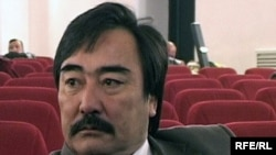 Режиссер Алматинской областной филармонии Сагындык Жумадилов, участник Декабрьских событий в 1986 году. Талдыкорган, декабрь 2009 года.