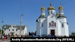 Українська православна церква Київського патріархату в Луганську, липень 2013 року