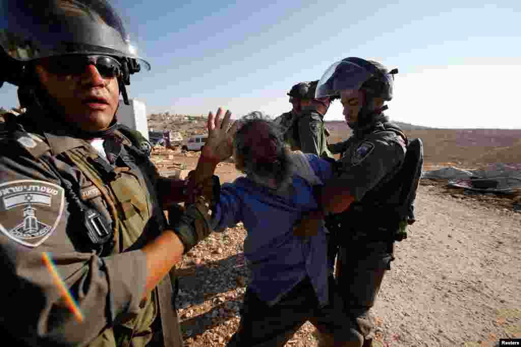 Строительство домов без официального разрешения властей Израиля запрещено