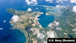 Гуам аралы Тынч океанында жайгашкан