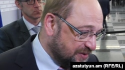 Президент Європарламенту Мартін Шульц