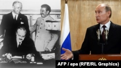 Putin says the Molotov-Ribbentrop Pact wasn't such a bad thing after all.