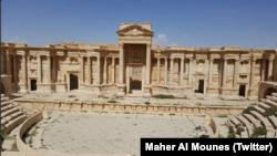 Пальмира после отвоевания города у группировки «Исламское государство», Сирия.