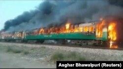 Պակիստան - Հրդեհը գնացքում, Փենջաբ նահանգ, 31-ը հոկտեմբերի, 2019թ․