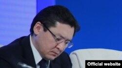 Баглан Майлыбаев в бытность заместителем администрации президента Казахстана.