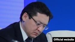 Баглан Майлыбаев в бытность заместителем руководителя администрации президента Казахстана. Астана, 19 февраля 2015 года.