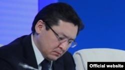 Баглан Майлыбаев в бытность заместителем руководителя администрации президента Казахстана.