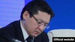 Бағлан Майлыбаевтың Қазақстан президенті әкімшілігі басшысының орынбасары кезіндегі суреті. Астана, 19 ақпан 2015 жыл.