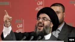 Хасан Насралла докладывал своим сторонникам об успехах движения на протяжении целого часа, после чего скрылся в тайном убежище