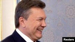 Виктор Янукович в бытность президентом Украины. Киев, 10 сентября 2012 года.