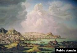 Константин Богаевский. Каффа (Старая Феодосия)