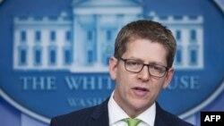 Zëdhënësi i Shtëpisë së Bardhë, Jay Carney.