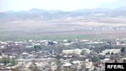 The city of Kulob in southwestern Tajikistan