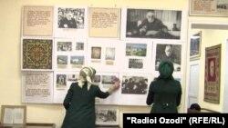 Осорхонаи Садриддин Айнӣ дар шаҳри Душанбе. 10-уми апрели 2018