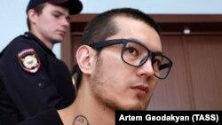 Али Феруз в зале суда 7 августа 2017 года