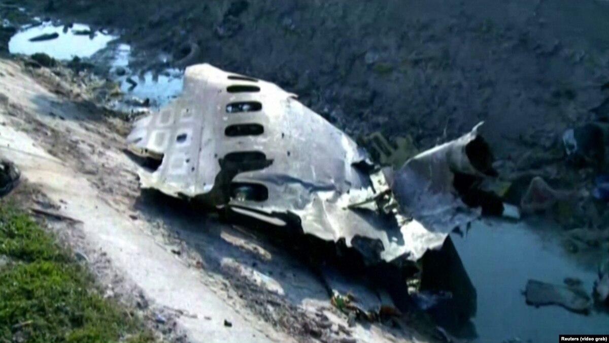 Украинский самолет горел перед тем, как разбился – иранское расследования