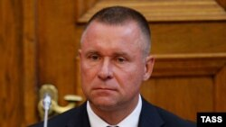 Yevgeny Zinichev recently resigned as governor of Kaliningrad last month after just a few months in the job (file photo).