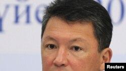Тимур Кулибаев, зять президента Казахстана Нурсултана Назарбаева, нефтяной топ-менеджер.