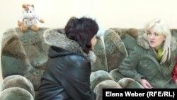 Комната, где пострадавшие от бытового и сексуального насилия женщины могут получить консультацию психолога. Темиртау, 14 апреля 2014 года.